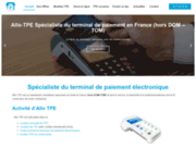 screenshot http://www.allo-tpe.fr/ Terminal de paiement