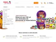 screenshot http://www.allobonbons.com achat de bonbons haribo, tagada; dragibus