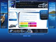 screenshot http://www.allonavette.fr/ navette aeroport paris : transfert cdg, orly