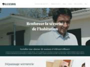 screenshot http://www.allosecurivol.fr allo securivol marseille, serrurier, dépanneur,