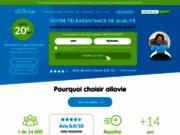 screenshot http://allovie.com allovie