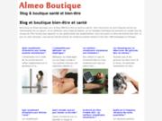 screenshot http://www.almeo-boutique.com bien-être et santé