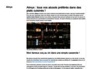 screenshot http://www.almyx.eu/ almyx - epicerie fine - saveurs senteurs subtilité