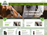 Vente des produits sains pour le bien-être des cavaliers et des chevaux