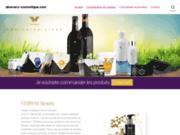 screenshot http://www.aloevera-cosmetique.com boutique cosmétique, parfum, aloe vera lr