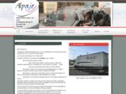 screenshot http://www.alpaje.fr/ maison d'accueil de jeunes en difficulté