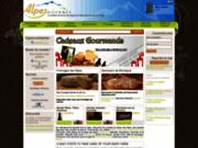 screenshot http://www.alpesgourmet.com alpes gourmet - produits du terroir en ligne