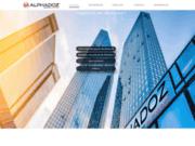 screenshot http://www.alphadoz.com/ Alphadoz cabinet de recrutement international