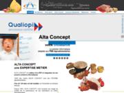 screenshot http://www.altaconcept.com alta concept votre solution traçabilité
