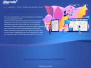 screenshot http://www.alternetis.fr intégration et services web, développement