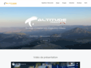 screenshot http://www.altitudeparapente.fr altitude parapente