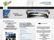 screenshot http://www.alu-sud.fr Fabricant, installateur de menuiseries aluminium sur-mesure sur Toulouse