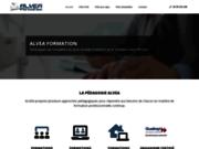 screenshot http://www.alveaformation-ifac.com alvea formation - ifac droit