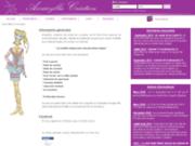 screenshot http://www.amaryllis-creation.fr amaryllis création