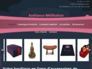 screenshot http://www.ambiance-meditation.com ambiance meditation