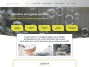 screenshot http://www.ambios.fr ambios : spécialiste de l'hygiène sanitaire