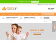 screenshot http://www.ambre24.com/ collier d'ambre