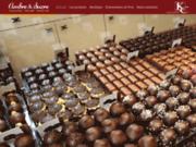 screenshot http://www.ambresucre.fr Chocolaterie, confiserie, épicerie fine à Paris