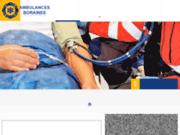 screenshot http://www.ambulancesboraines.be/ ambulance mons borinage frameries