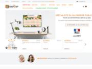 screenshot http://www.ameline-calendrier.fr ameline calendrier : calendrier publicitaire