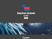 screenshot http://www.american-carwash.be lavage de véhicule