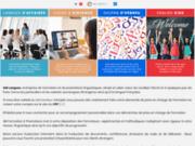 screenshot http://amformation.com am formation langues