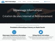 Prestataire Informatique: AMJ74 Informatique