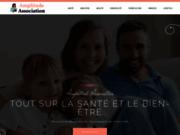 screenshot http://www.amplitude-association.com chamanisme,eft,massage,reflexologie,channeling,bol