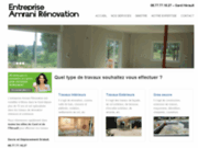 screenshot http://www.amrani-renovation.fr amrani rénovation gard