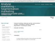 screenshot http://analyse-marketing.com analyse marketing, études de marché et segmentatio