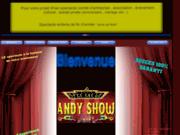 screenshot http://www.andyshowfolies.com andy show folies ,les spectacles à la carte