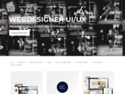 screenshot http://www.angelamadrid.fr graphiste freelance web