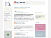 screenshot http://www.anglissime.com apprendre et améliorer son anglais
