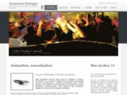 screenshot http://www.animation-bretagne.fr animation sonorisation prestation dj : bretagne normandie