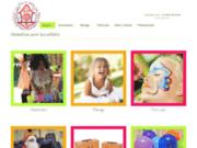 screenshot http://animation-enfant-bordeaux.com/ Anniversaire enfant sur Bordeaux