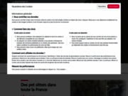 screenshot http://www.animaute.fr garde chien