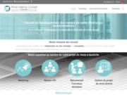 screenshot http://www.annevalensi-conseil.com Nous vous proposons un accompagnement de vos projets de vente directe