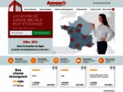 screenshot http://www.annexx.com location de box de stockage sécurisés
