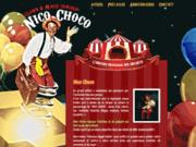 screenshot http://www.anniversalus.com animation anniversaire enfant clown magie toulouse