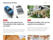 screenshot http://www.annonces-et-troc.com/ troquer et vendre : petites annonces gratuites