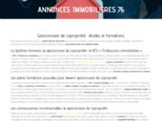 screenshot http://www.annonces-immobilieres-76.com achat maison à rouen - vente maison