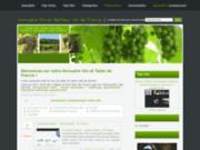 screenshot http://annuaire-de-la.la-table-et-le-vin.com annuaire du vin de france