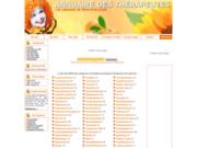 screenshot http://www.annuaire-des-therapeutes.com annuaire des thérapeutes