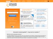 screenshot http://www.annuaire-inverse-france.com annuaire inversé