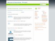 screenshot http://annuaire.banques-et-assurances.fr annuaire des assurances et des banques