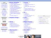 screenshot http://annuaire.lamogere.fr/ annuaire de la mogère tourisme mariage montpellier