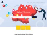 screenshot https://annuaire.webcom-agency.fr/ Annuaire Occitanie