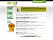screenshot http://www.annuaireduteeshirt.com annuaire de tee shirt : boutique de t-shirt