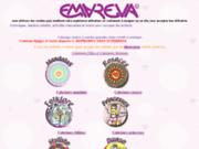 screenshot http://www.annuaireemareva.com coloriage et activités manuelles