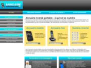screenshot http://annuaireinverseportable.fr Annuaire inversé